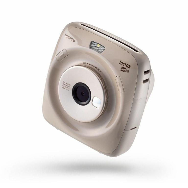 FujiFilm instax SQUARE SQ20 front profile