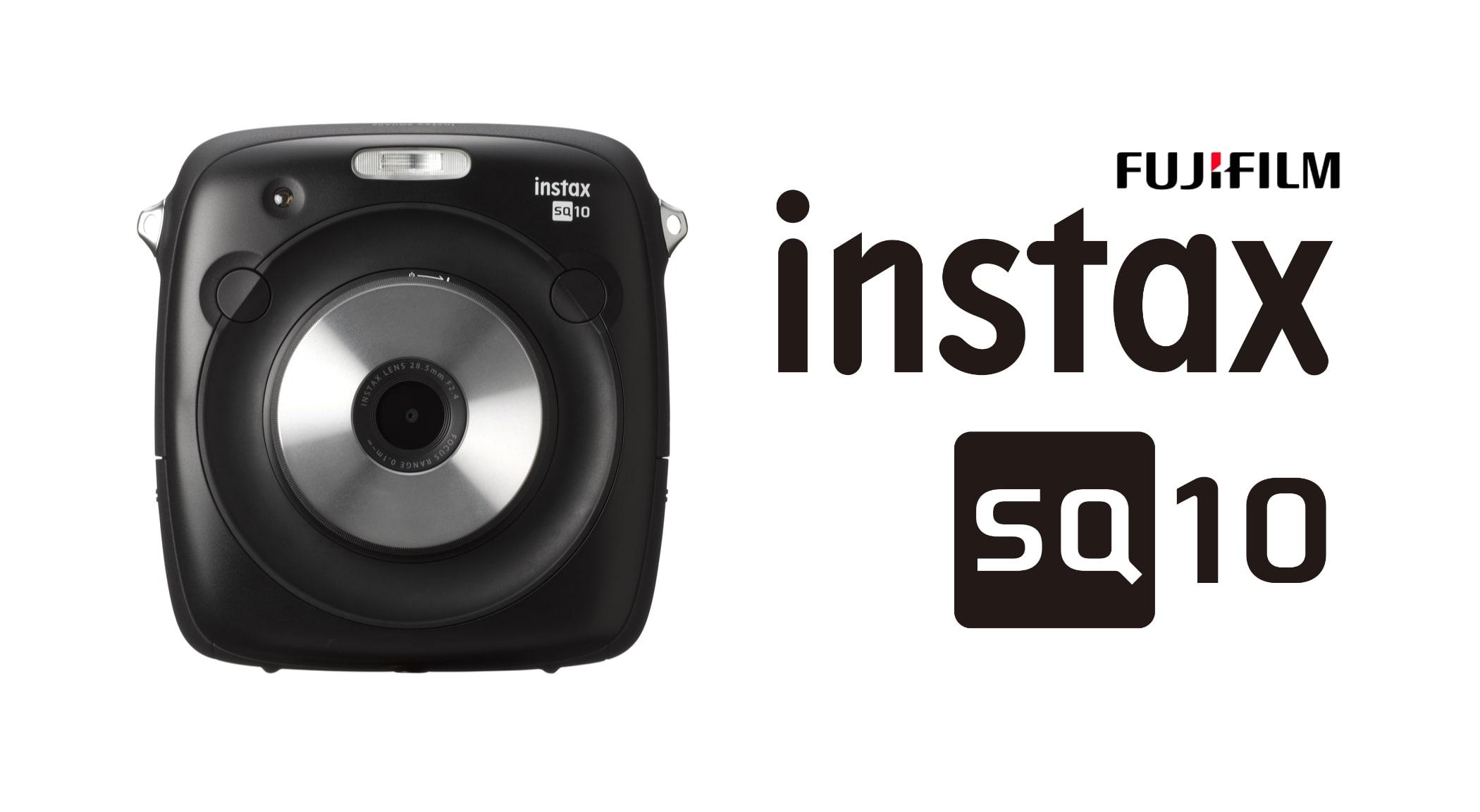 FujiFIlm instax SQUARE SQ10 front black