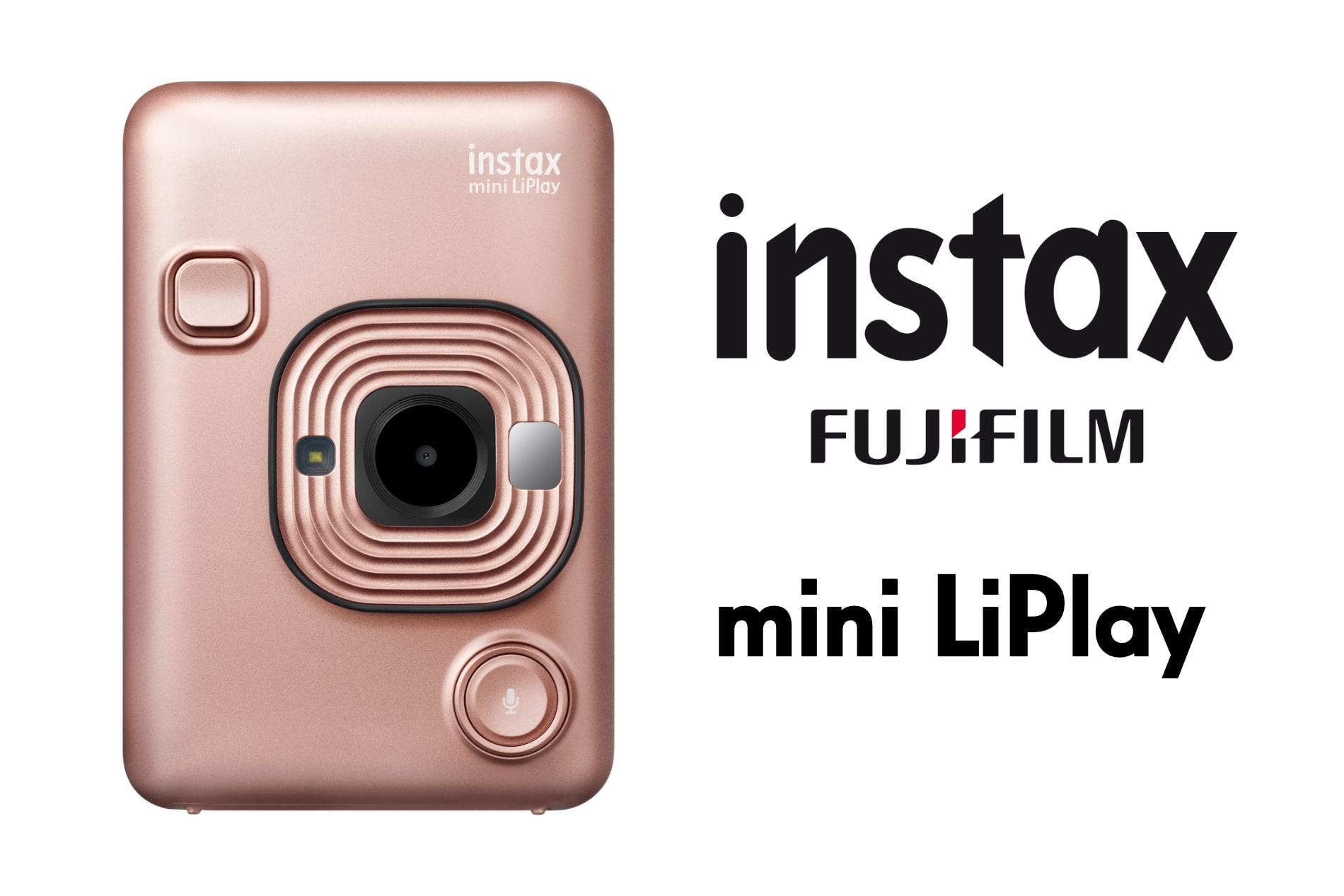 FujiFIlm instax mini LiPlay instant film camera