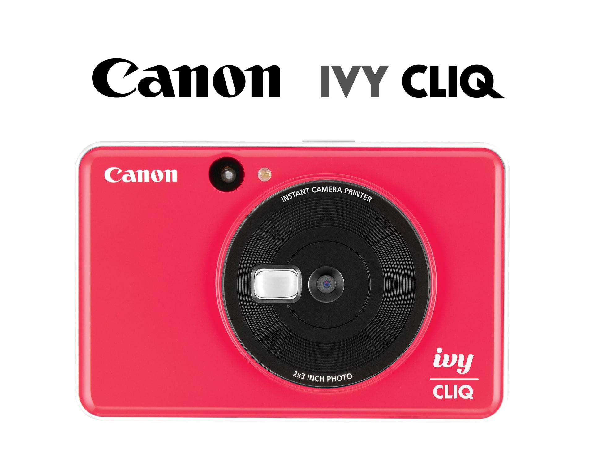 Canon IVY CLIQ hybrid instant photo camera