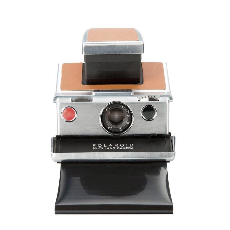Polaroid SX-70 front print paper